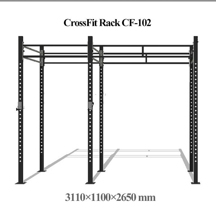 CF-101H-details-of-cross-noeven-bar-crossfit-high-low-tower_03