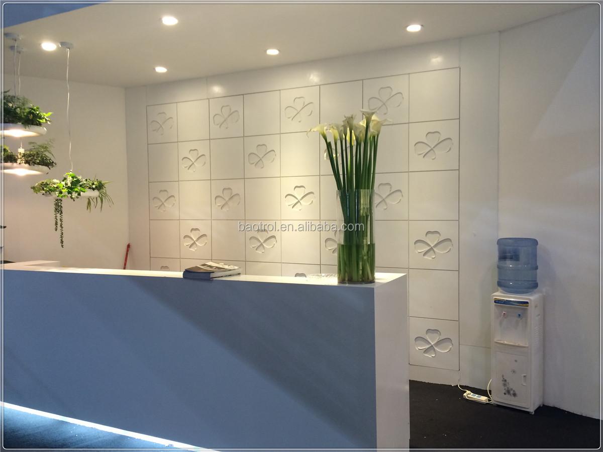 Modern Design Small Salon Reception Desk Beauty Salon