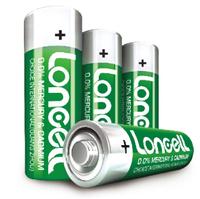 LONCELL Brand high quality 1.5V um3 r6 extra heavy duty battery