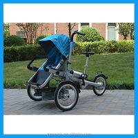 electric stroller baby pram 3 in 1 with CE certification
