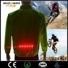 Flashing LED safety motorcycle clothing