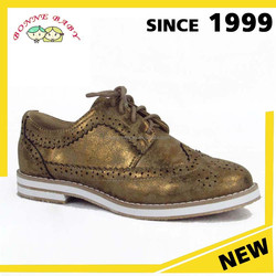 Genuine Leather Or Pu Upper Korean Children Girl Sport Shoe