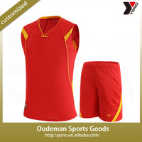 2015 Cheap wholesale youth design boy's basketball uniforms