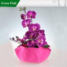 Green Field Garden Planter Pot,Garden Grow Flower Pots
