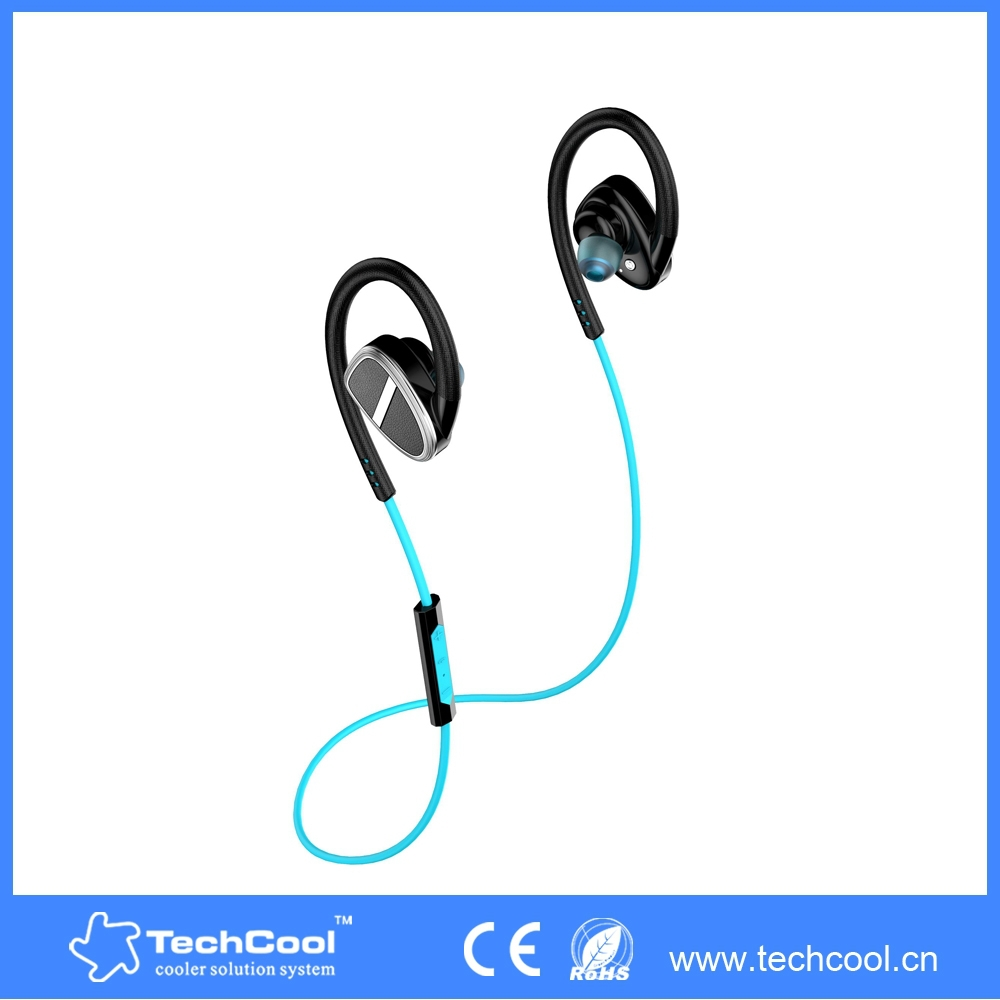 green in ear bluetooth earbuds ear hook earphone with. Black Bedroom Furniture Sets. Home Design Ideas