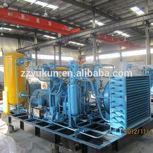 3l-10/3.5 10m3/min capacidad de biogás equipo de compresor