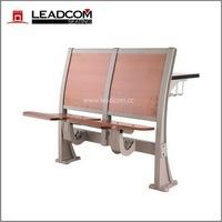 Leadcom aluminum stanchion school lecture desk & chair LS-919M