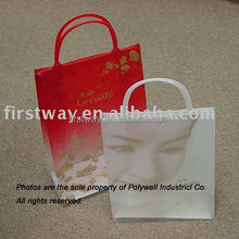 Plastic Clip Close Handle Gift Bag