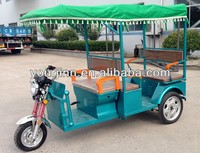 48v 850W opened electric tricycle for passenger