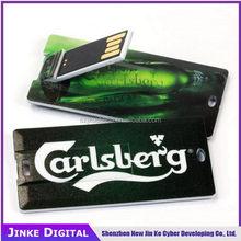 Good quality top sell ultra thin name card usb flash drive