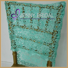 C305A Wholesale Cheap Chair Covers Sequin Wedding Folding Chair Covers