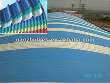 2,0mm ondulato piastrella effetto plastico lastre di copertura in impianti chimici corrosivi