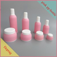2015 new 50ml pink Korea cosmetic product empty cosmetics jar,30ml empty cosmetic container small,plastic bottle containers 10 g