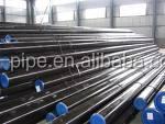 MS black seamless steel pipe