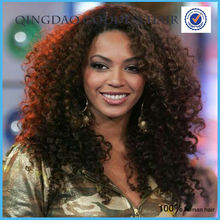 Heavy density 150%-180% density indian remy hair full lace wig kinky afro curly wig side parting 1b unprocessed crazy hair wigs