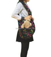 fleece sling dog carrier