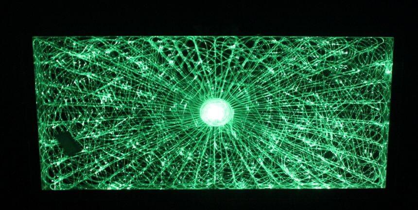 Elegant Piscine De Fibre Optique Du0027éclairage Au Plafond, Fibre Optique Guirlande  Led Du0027