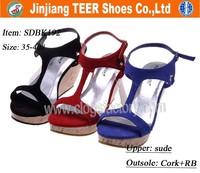 China wholesale high heel women shoes 2016 shoes