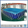 2015 hot sale factory directly above ground stainless steel pools 5.14m*3.98m*1.0m