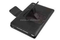for iPad Mini Leather Folding Case