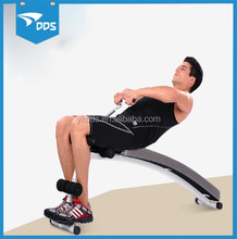 Fitness bench with balancing board for gym