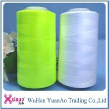 30/2 polyester spun yarn for sewing thread on cone 5000yard