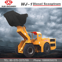 China Scooptram underground loader LHD mining equipment