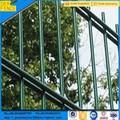 Vallas de hierro moderna frente doble puerta diseños