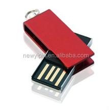 2GB 4GB USB 2.0 Flash Drive Memory Stick Metal Swivel Storage Thumb Pen Disk Red