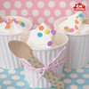 sanitary standard icecream paper cups for European and American market