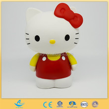cheap small plastic toys action toy figures popular cute mini cat
