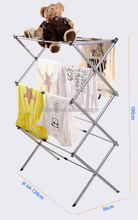 towel rack easy carrying and floded extensible one