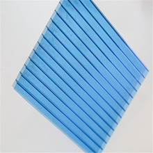 soundproof insulation twin wall/double wall/2wall/2layer polycarbonate PC sheet