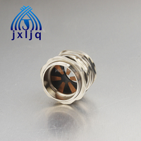 Electrical low price Armoured cable connector with brass lock nut