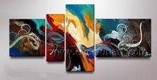 Handmade Canvas Abstract Paint By Numbers