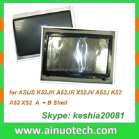 laptop spare parts for ASUS K52JK A52JR X52JV A52J K52 A52 X52 laptop A shell top cover B Case screen frame