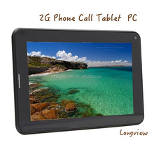 A23 7 inch dual core Android tablet pc with 2G SIM slot front/rear cameras wifi 512MB/4G