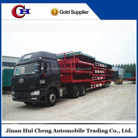 Multi-axle hydraulic truck trailer for sale