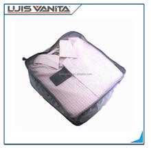 fancy mesh traveller bags