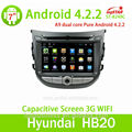Auto radio para hyunda con android 4.2 capactive pantalla, gps, bt, ridio, fuction