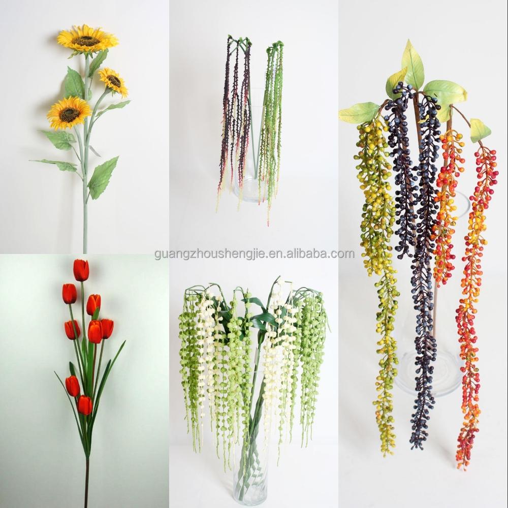 Sjh121608 Artificial Flowers Decorative Artificial Flower Making