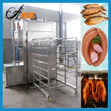 250kg per oven smoked fish machine smoked meat machine