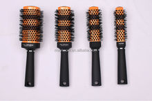 Top sale nylon brastle change color square hair brush