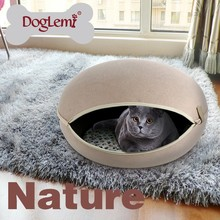 Trade Assurance Doglemi Wholesale Cheap Dog Kennel Egg Shape Pet Doggy Bed House