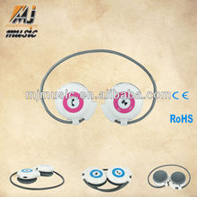 Alibaba hot sale ear hanging headphone for phone pv tv