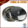 hot sale stainless steel plates serving dishes/wholesale restaurant dinner plates/silver tray with cover for hotel T203 S