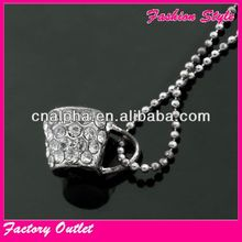 Fashion design wholesale empty cup chain necklace