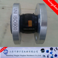 Italy Standard Rubber Expansion Joint with Flange