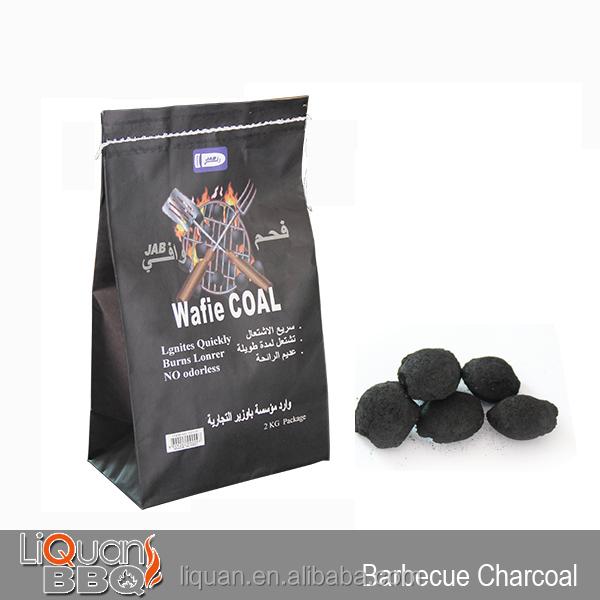 Kg bbq charcoal briquette low price per ton of