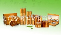 new bamboo cosmetic packaging box